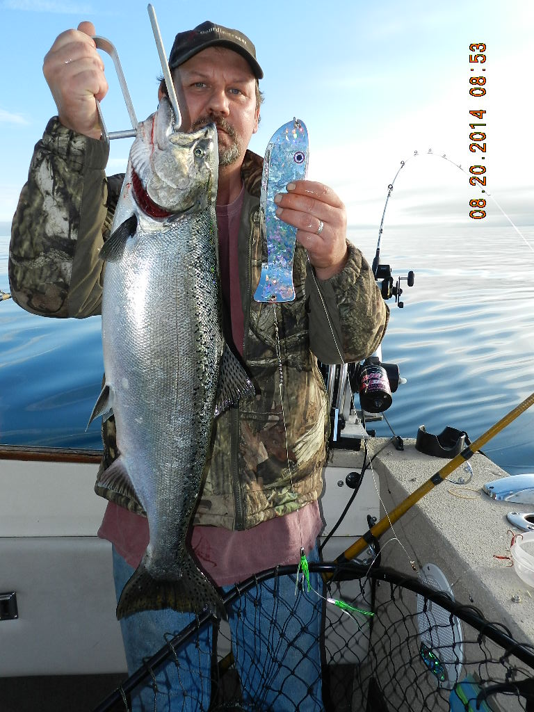 Capt john kings great lakes salmon tackle plus cut bait for Ttr fishing guide