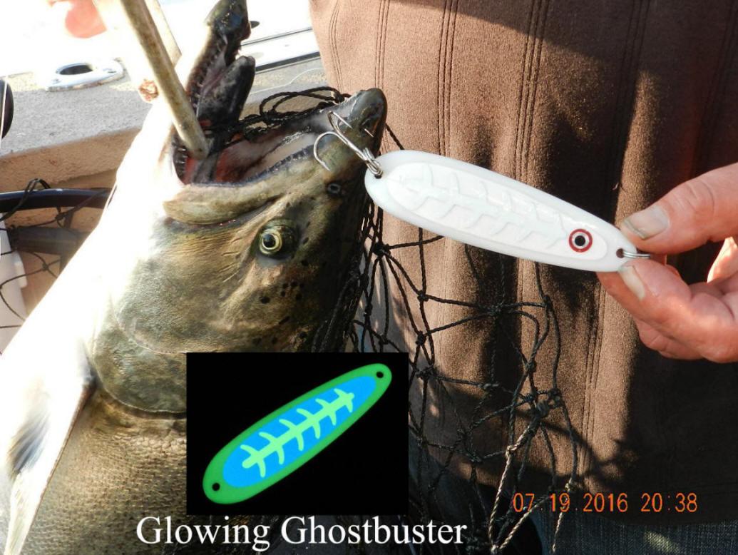 capt. john king's great lakes salmon tackle plus cut bait rigs, Reel Combo