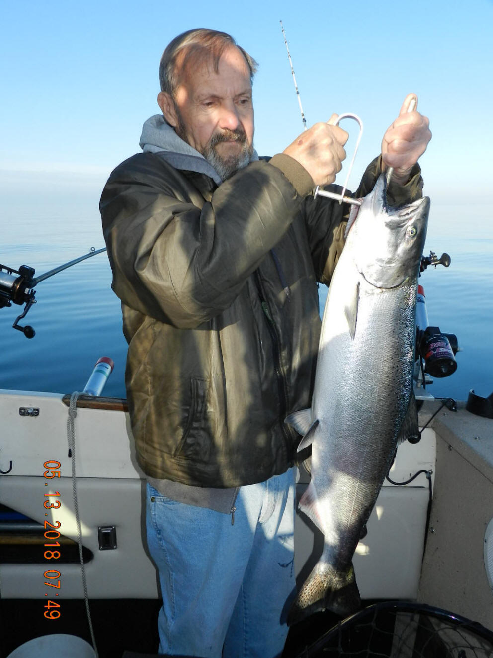 Capt  John King's Great Lakes Salmon Tackle plus Cut Bait