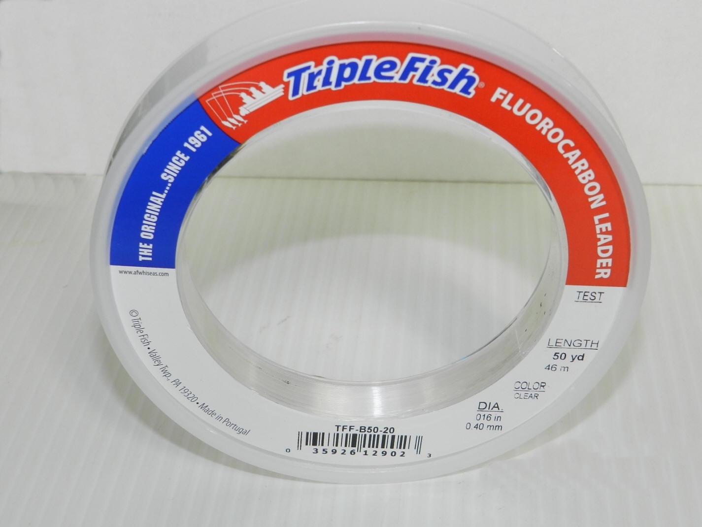 25 yd Bracelet Triple Fish Fluorocarbon Leader Material